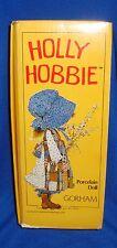 "Rare 1983 14"" Holly Hobbie Musical Blue Girl in Box Wrong Box"