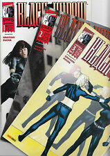 Black Widow (allemand) # 1 + 2 + 3 Complet-Marvel Knights 2001-TOP
