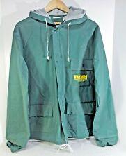 "WETSKINS ""RAIN RUNNER"" PVC Waterproof RUNNING Jacket ,Green Mens S / M 46"" chest"