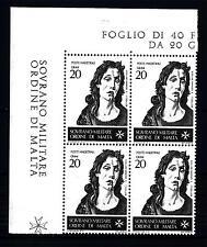 SMOM - 1967 - San Giovanni Battista, patrono dell'Ordine - BOTTICELLI