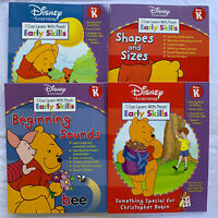 Disney Learning Pre K I Can Learn With Pooh Lot Of 4 Home School Workbooks