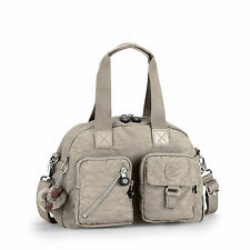 Kipling Defea Shoulder/Handbag/Cross Body WARM GREY (Beige) RRP £79 CLEARANCE