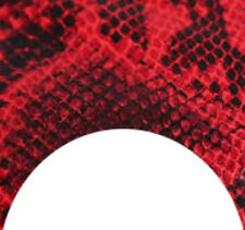 20 water slide nail art manicure red snake skin french tip4 sizes Trending