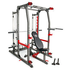 Marcy Pro Smith Cage Home Gym Training System | SM-4903 Pull ups squats VKR Dips