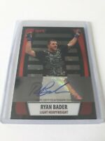 2011 Topps UFC Autograph Ryan Bader 46/88 Card# CA-RB