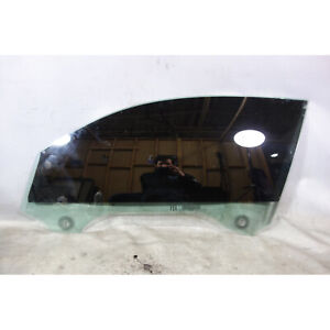 Damaged BMW F22 2-Series Coupe Left Front Driver's Window Glass w Scratches OEM