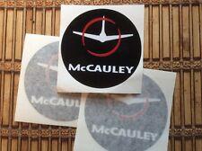 McCAULEY PROPELLER AIRCRAFT PROPELLER DECALS  set of 3