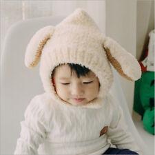 Winter Baby Boys Girls Hat With Ear Flaps Beanie Animal Cap Warm Fleece Hat HD