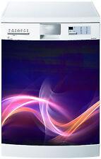 Sticker lave vaisselle déco cuisine électroménager Jeux de Couleurs 703 60x60cm