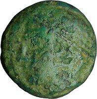 AINOS in THRACE 280BC Rare Authentic Ancient Greek Coin Hermes Caduceus i34429