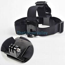 Head Strap Mount Belt Elastic Headband For GoPro GO PRO HD Hero 2/3/3+/4 Camera