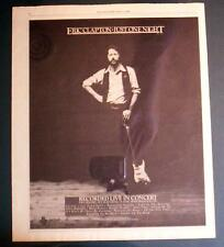 "1980 Eric Clapton ""Just One Night"" Album Promo Ad"