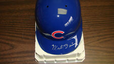 Monte Irvin Autograph / Signed Chicago Cubs Mini Helmet