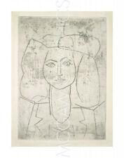 """PICASSO PABLO - PORTRAIT OF FRANCOISE, DRESSED... - Artwork R 14"""" x 11""""   (4131)"""