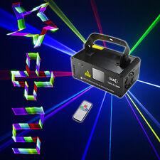 SUNY DMX 3D Effect 400mW RGB Laser Show DJ Music Gig Bar Party Light TDM-RGB400