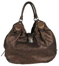 Louis Vuitton Metallic Bronze Mordore Mahina Leather XL Shoulder Bag 860878