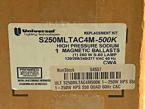 Universal Lighting Technologies S250MLTAC4M-500K High Pressure Sodium 250W S-50