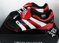 Adidas Predator Accelerator FG Remake Football Boots Black Red UK 7 US 7.5 New