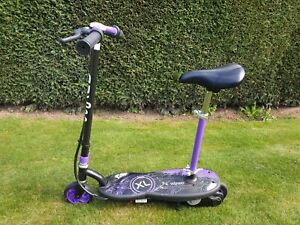 Childs electric scooter