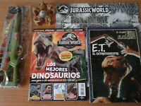 Jurassic World Park, E. T. - (Spielberg, Extraterrestre, Phoskitos, dinosaurios)