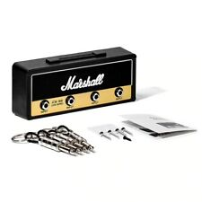 Porte-clé Mural Ampli Marshall 4 Guitares Jack Standard Kit Fixation Murale moto
