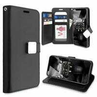 For iPhone 11 Pro MAX 7 8 Plus Double Flip Wallet Case Protective Stand Cover