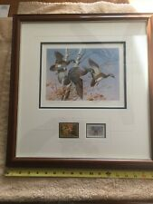 2 - Gold Medallion State Duck Stamps & Prints Vermont & Arizona, Framed, Matted
