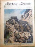 La Domenica del Corriere 19 Aprile 1936 Carabinieri Desenzano Alfieri Polo Duce