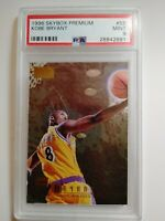 KOBE BRYANT RC 1996-97 SKYBOX PREMIUM #55 ROOKIE LOS ANGELES LAKERS PSA 9 MINT