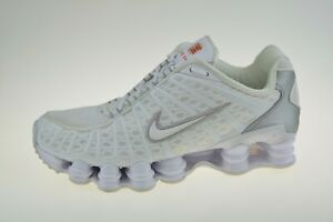Nike Shox TL White AV3595-100 Men's Trainers Size Uk 8