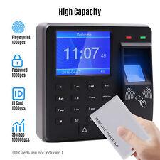 Access Control Attendance Machine Fingerprintpasswordcard Recognition