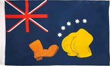 Other Gift & Novelty--Simpsons - Bart V Australia Replica Flag