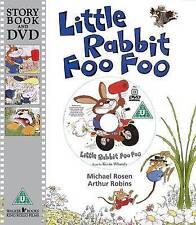 Little Rabbit Foo Foo by Michael Rosen - Story Book and DVD - NEW