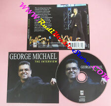 CD GEORGE MICHAEL The Interview 2011 SEXY INTELLECTUAL no lp mc dvd (XS11)