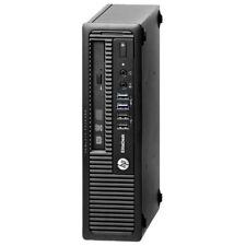 HP EliteDesk 800 G1 Ultra-Slim Desktop i5 4590S 3.0GHz 8GB 500gb Hdd AC Adapter