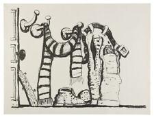 Philip Guston,Studio Corner, signed and numbered, 1980