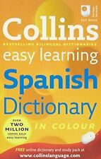 More details for collins easy learning spanish dictionary (collins easy learning spa... paperback