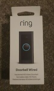 Ring Video Doorbell Wired – Full HD Video- Advanced Motion Detection - BRAND NEW