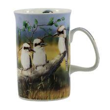 Kookaburra Bone China Coffee Tea Mug Cup Australia Birds Fauna Souvenir Gift Box