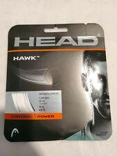 HEAD Hawk 16 Tennis String (White)