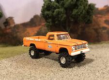 1965 Dodge W100 4x4 Lifted Custom 1/64 Diecast Truck Farm Off Road 4WD W200