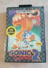 Sega Genesis Sonic The Hedgehog Game