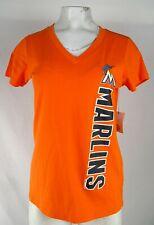 Miami Marlins MLB G-III Women's V-Neck Shirt