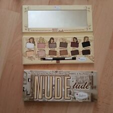 New 12 Color The Balm Nude Tude Eye-shadow Shimmer Palette Eye Shadow Makeup KiT