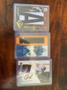 KHL Cards SeReal Lot AUTO PATCH STICK NHL