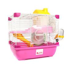 Jolly Design-New Little Princess Hamster Cage Wheel Bottle House 29×22×30cm