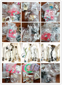 10 necklaces, earrings, ring, brooch joblot costume jewellery, new, choices