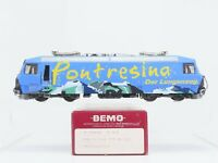 HOm Gauge Bemo 1259 121 RhB Pontresina Ge 4/4 III Electric Locomotive #651