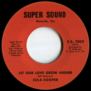 EULA COOPER LET OUR LOVE GROW HIGHER  Soul Northern Motown