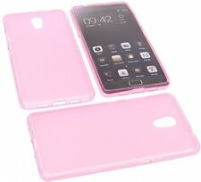 Protective Case For Lenovo Vibe P2 Rubber TPU Mobile Phone Cover Pink